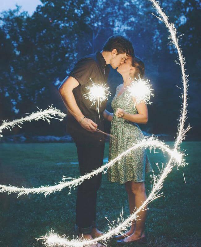 36 ideas de fotos románticas para un San Valentín original