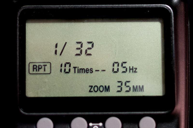 Cómo usar el flash en modo estroboscópico: claves básicas