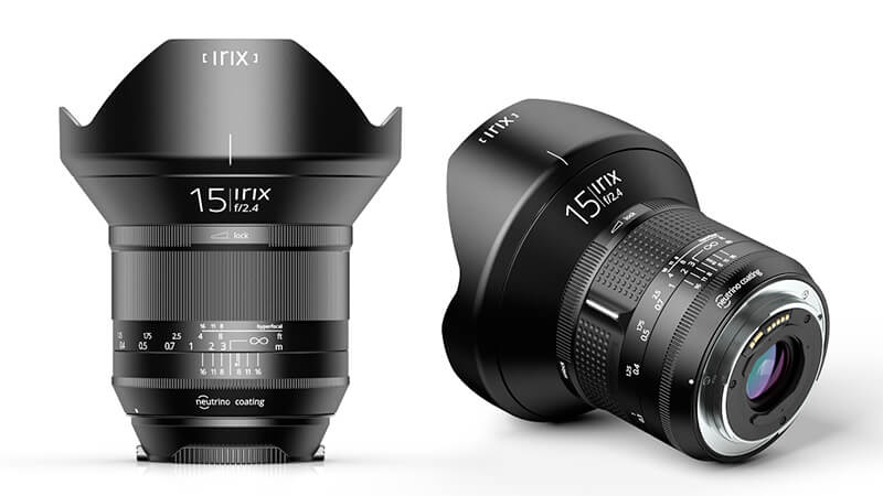 Irix 15mm f/2.4, le nouvel grand angle d'origine suisse