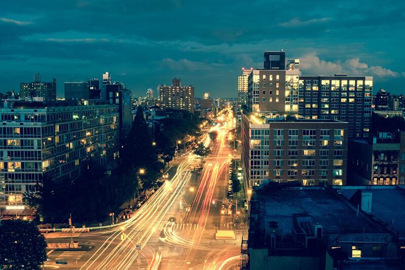5 consejos para fotografiar las estelas de luz de los coches. Rafal Buch