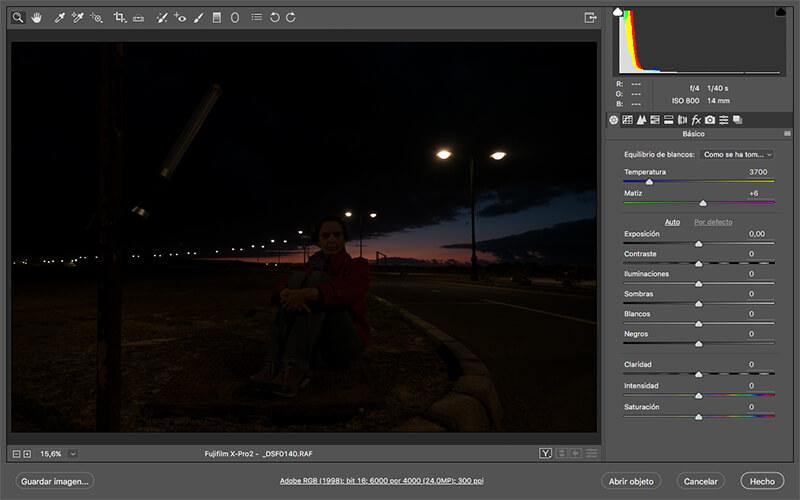 Gloxy Power Blade, el poder de la luz viajera (II). Captura toma 2 sin luz.
