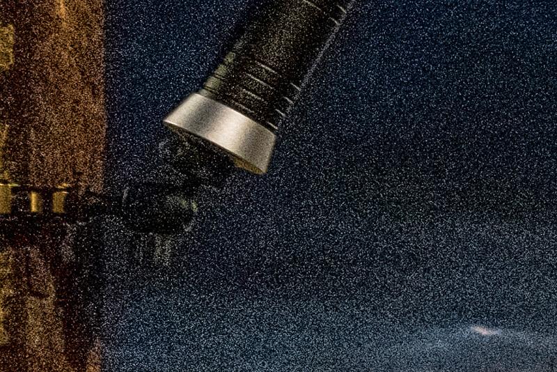 Gloxy Power Blade, el poder de la luz viajera (II). Detalle ruido toma 2.