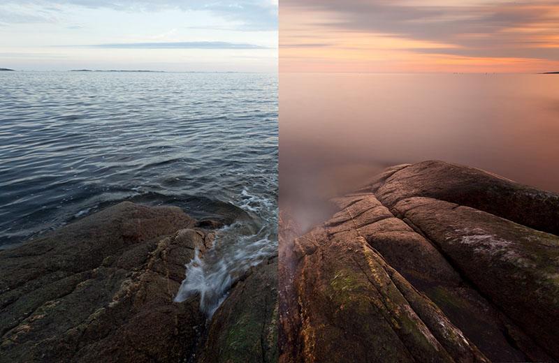 Les filtres ND sont parfaits pour les paysages d'été