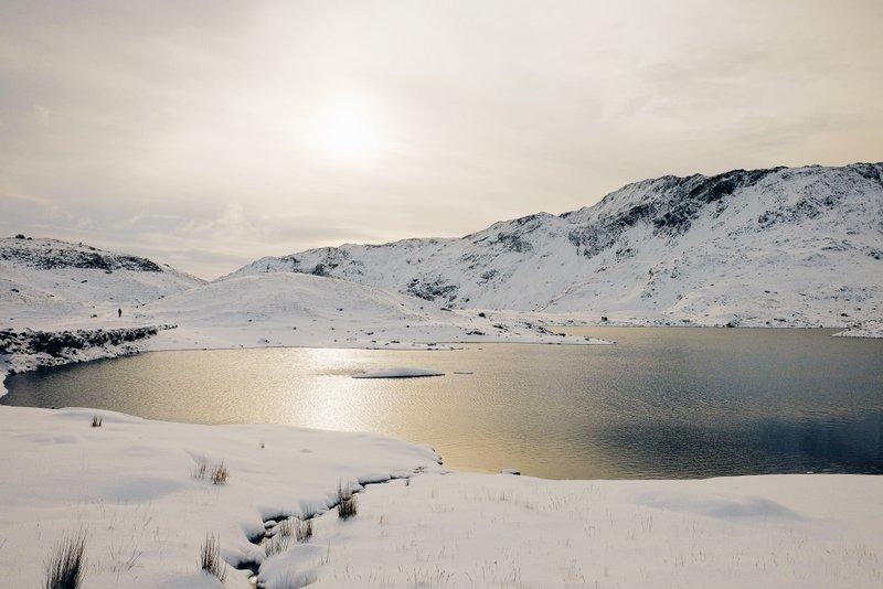 fotografía de paisaje realizada con cámaras EVIL