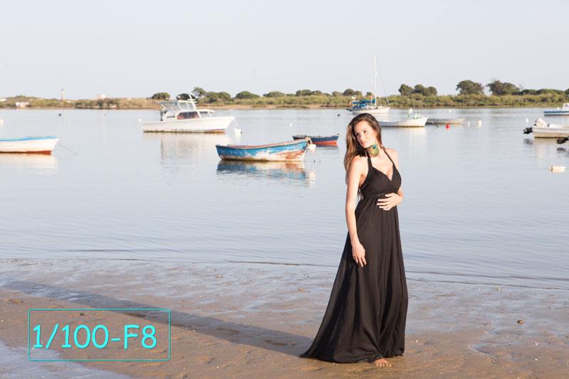 Foto hecha usando el filtro ND Gloxy
