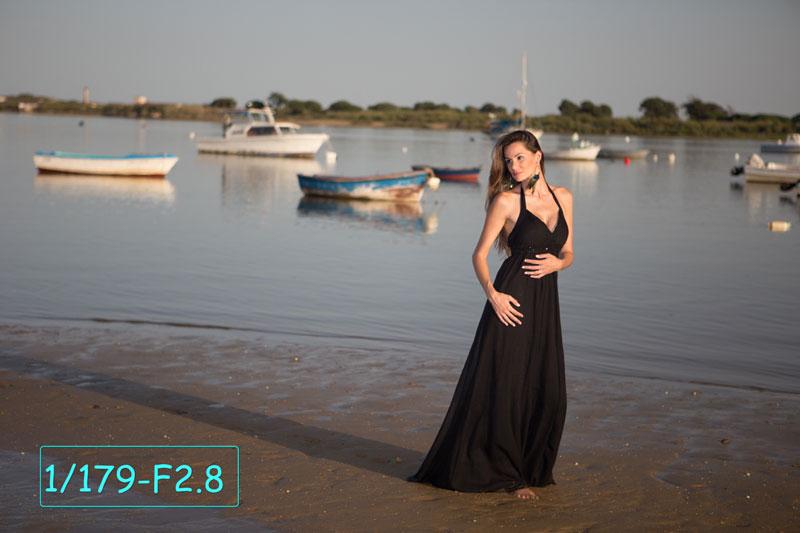 Portraits avec des filtres ND variables