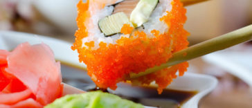 Fotos de comida sushi