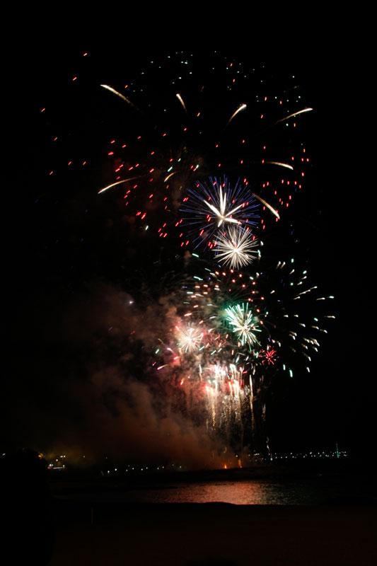 Photographier les feux d'artifice : partie 2 du montage final