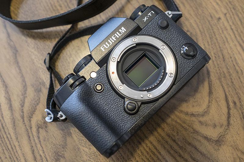 Fujifilm X-T1 sin óptica