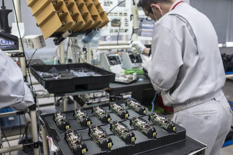 Proceso de fabricación de Fujifilm X-T1