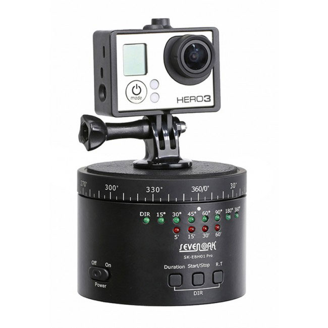 Rótula panorámica para GoPro