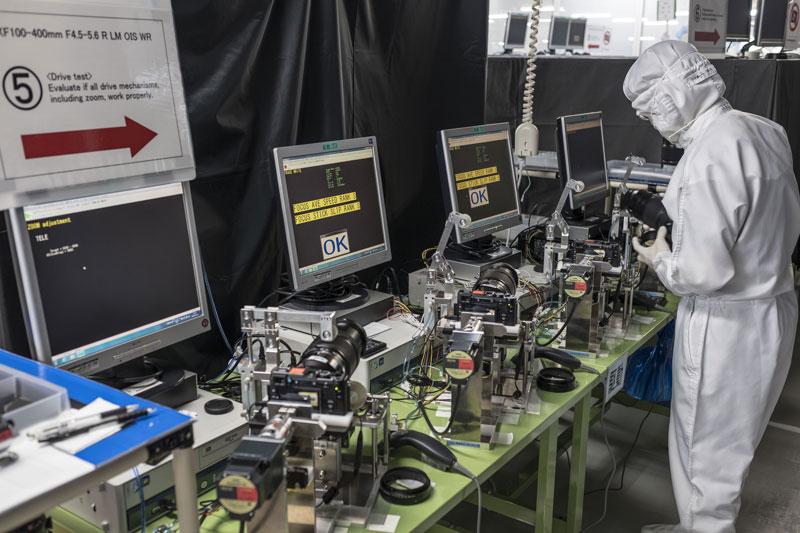 Testeado de objetivos 100-400mm Fujifilm