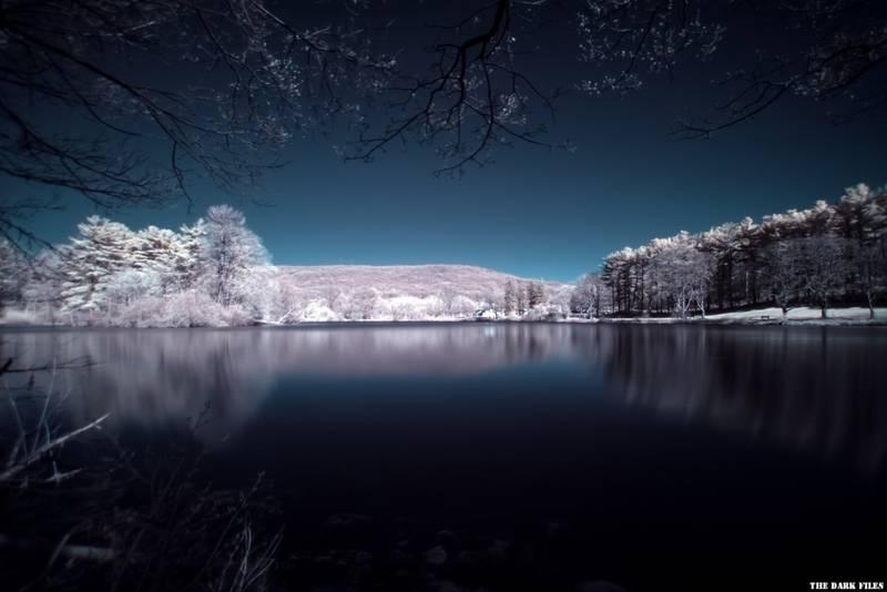 Fotografía nocturna con filtro infrarrojo