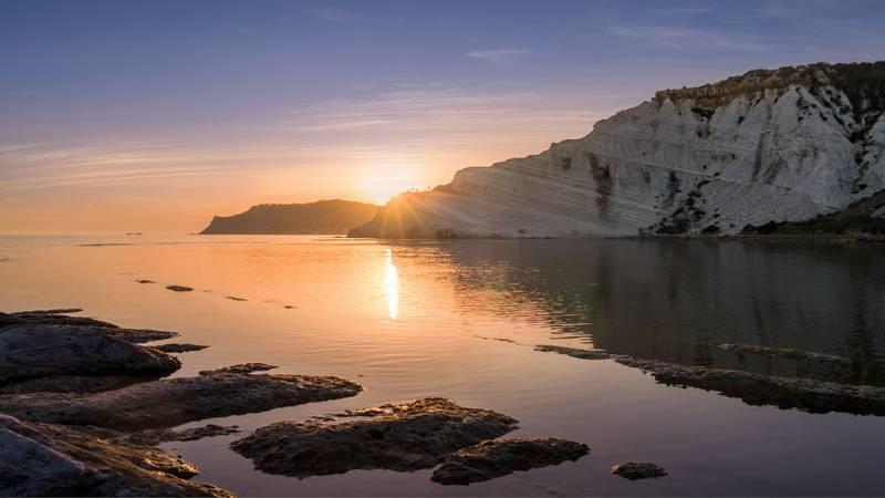 Photos du lever et du coucher du soleil