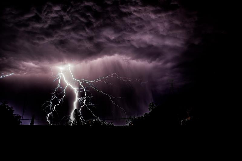 Photographier les éclairs : soignez votre cadre