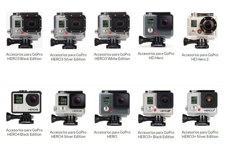 Los 20 mejores accesorios para GoPro y cámaras de acción ...