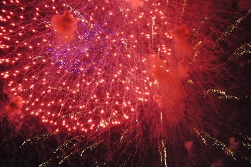 Photos de fête : les feux d'artifice