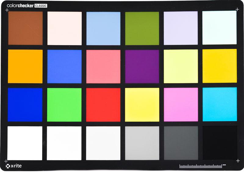 Tarjeta de calibración del color