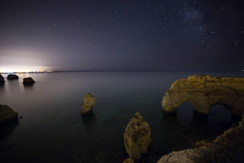 Fotografías de cielos nocturnos