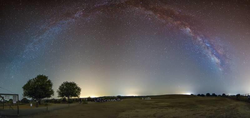Fotografías de cielo nocturno en verano
