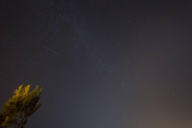 fotografía de cielo nocturno