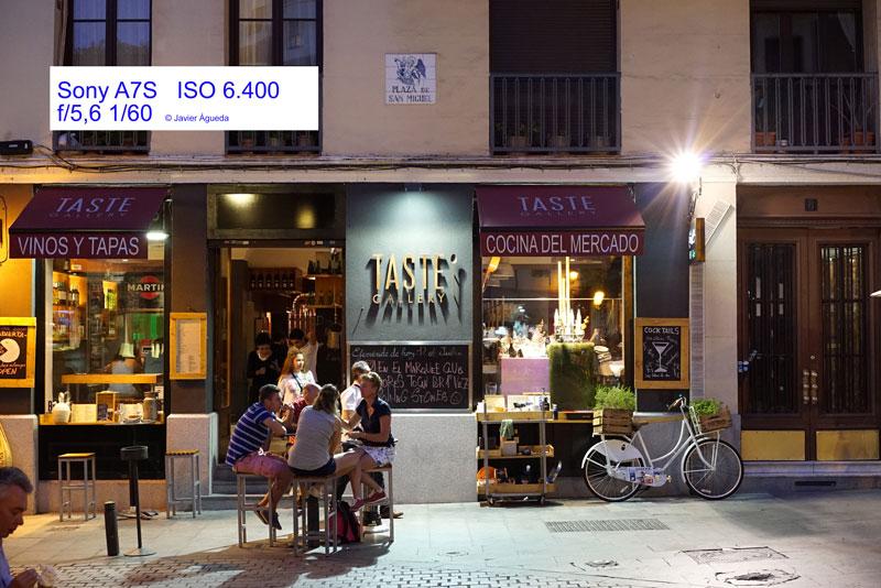 Calle Javier Águeda Sony A7S