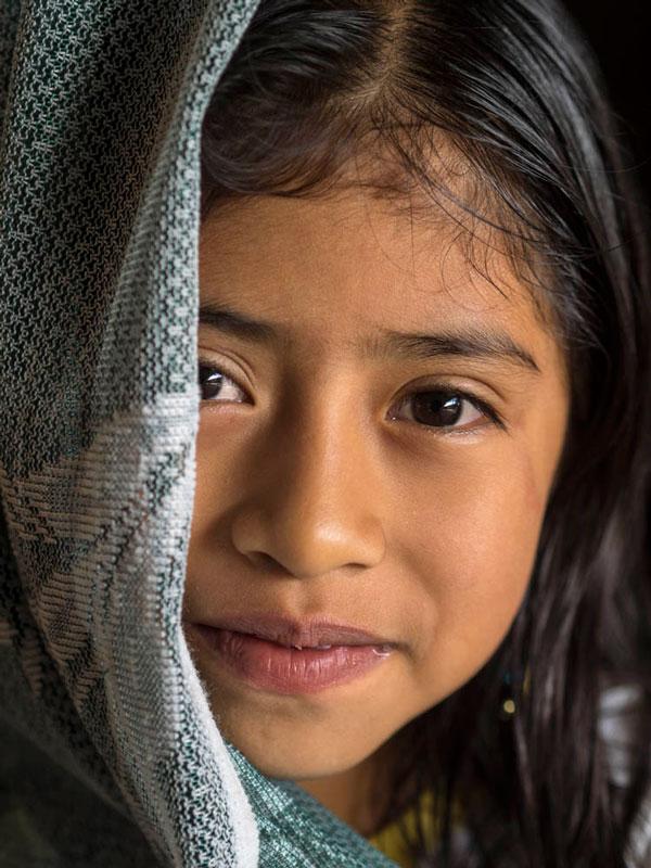 Tino Soriano retrata a una niña