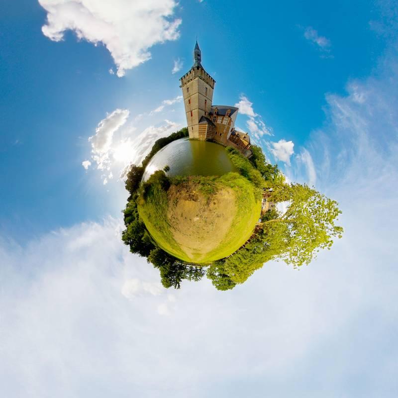 Créez de petites planètes avec les panoramiques circulaires et verticales