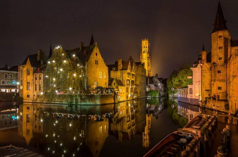 Brujas ciudades bonitas para hacer fotos