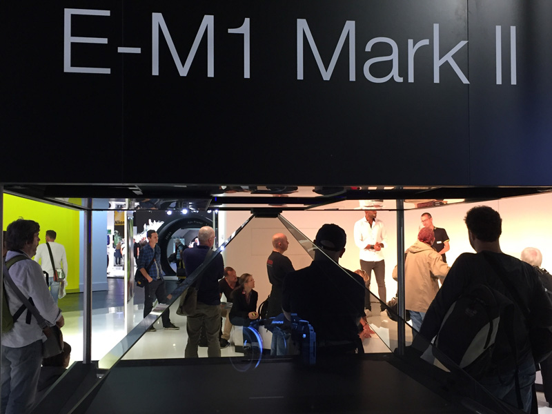 Olympus OM-D E-M1 Mark II Photokina