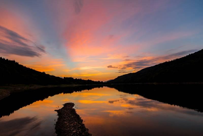 Fotografías de puestas de sol con objetivos Irix