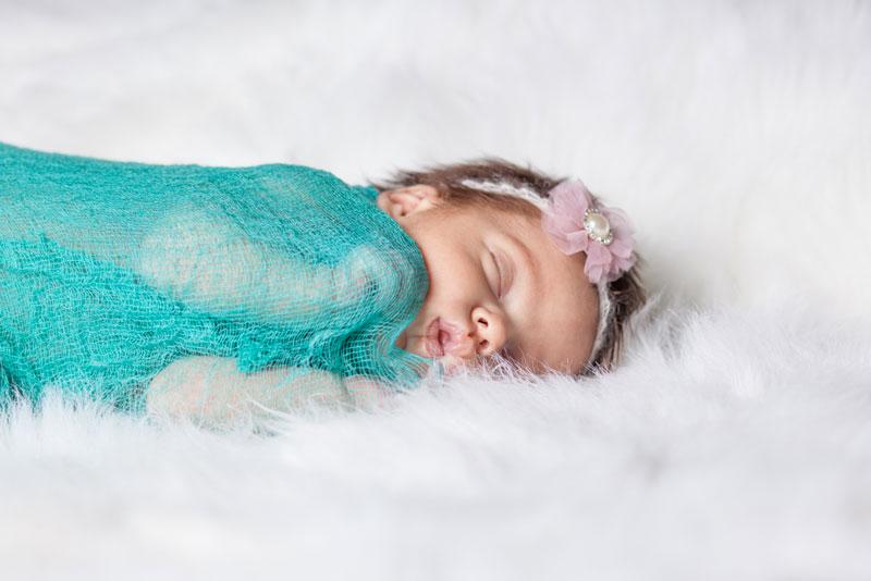 como hacer fotos de bebés