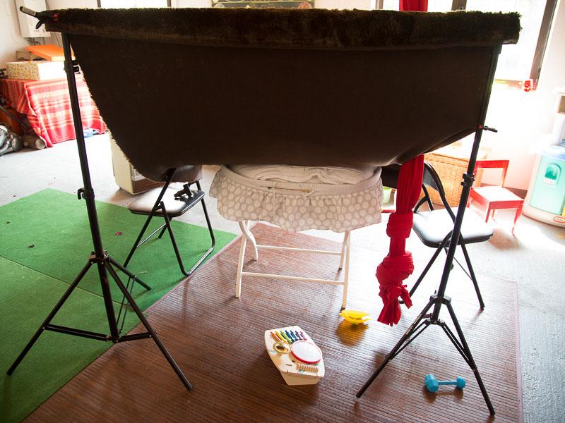 Set para fotografiar bebés
