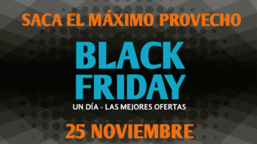 Sacar provecho Black Friday Foto24