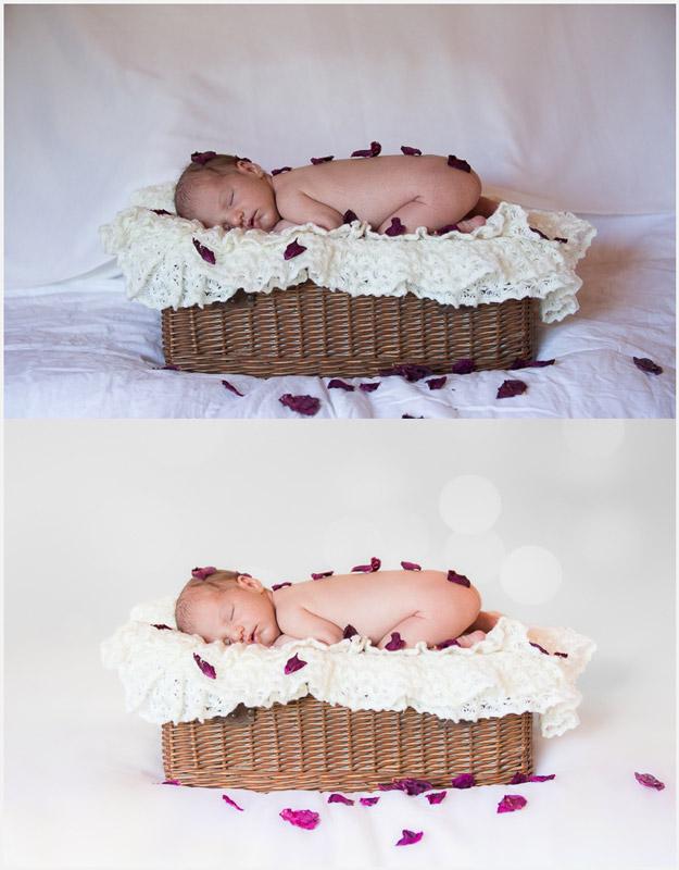 Comment réaliser des photos de bébé : l'édition