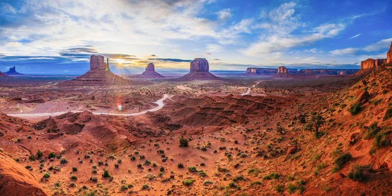 La mise au point manuelle pour les paysages