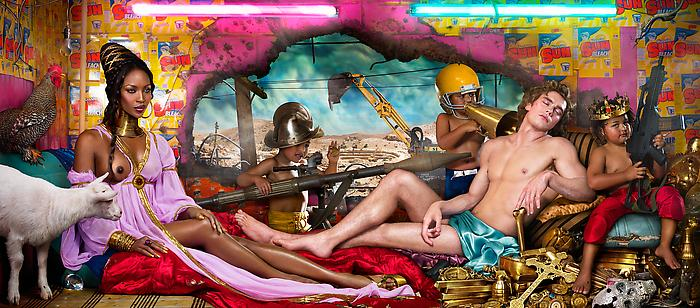 David LaChapelle : Technique