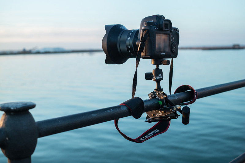 Canon 6D avec l'Irix 15mm monté