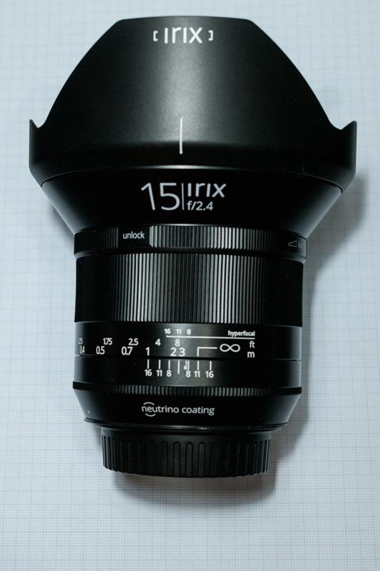 Irix 15mm f.2.4