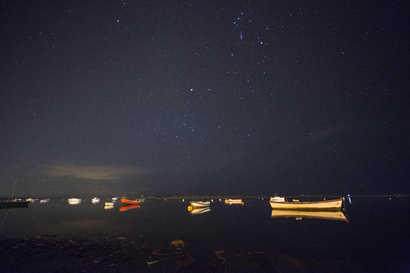 Barcas de noche