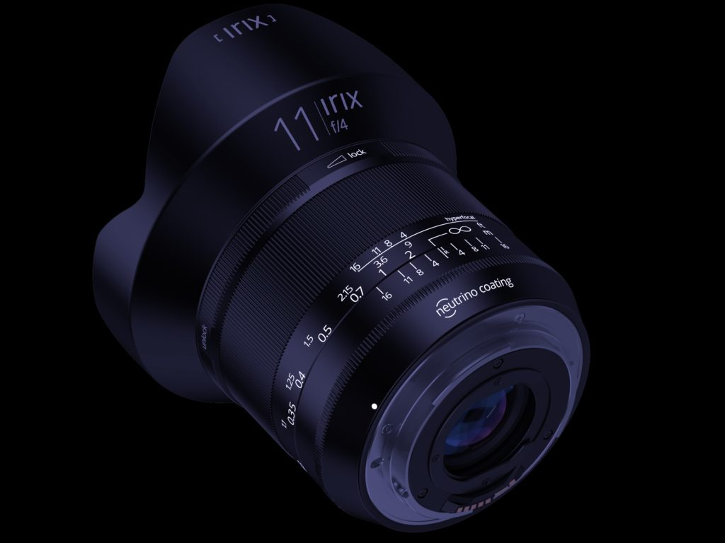 Irix ultra grand angle 11 mm f/4.0