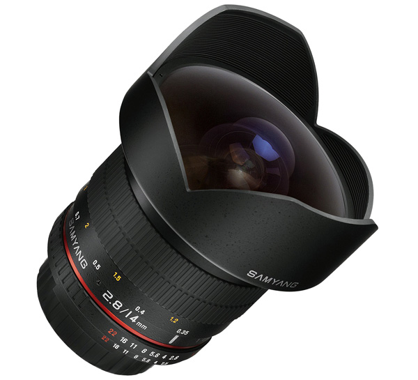 Les meilleurs objectifs pour la photographie de paysage : Samyang 14mm f/2.8