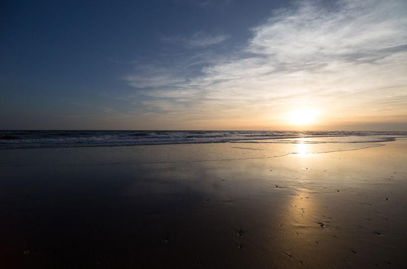 Playa sin centro de interés