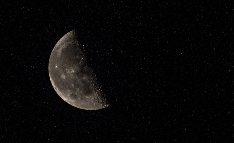 equipo para fotos de luna