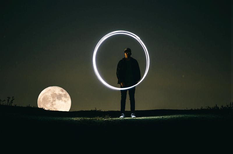 fotografiar la luna
