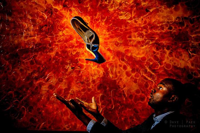 Los zapatos explosivos resultado final