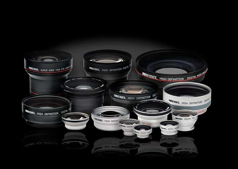 Óptica para fotografía de producto y publicidad