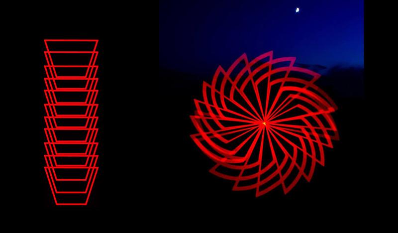 Formas con Pixelstick