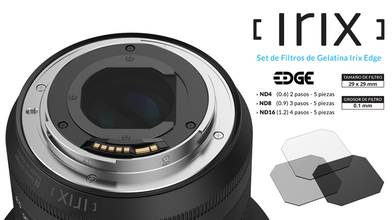 filtros ND Irix Edge