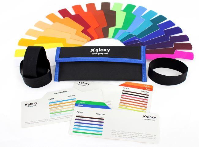 gels couleur pour flash